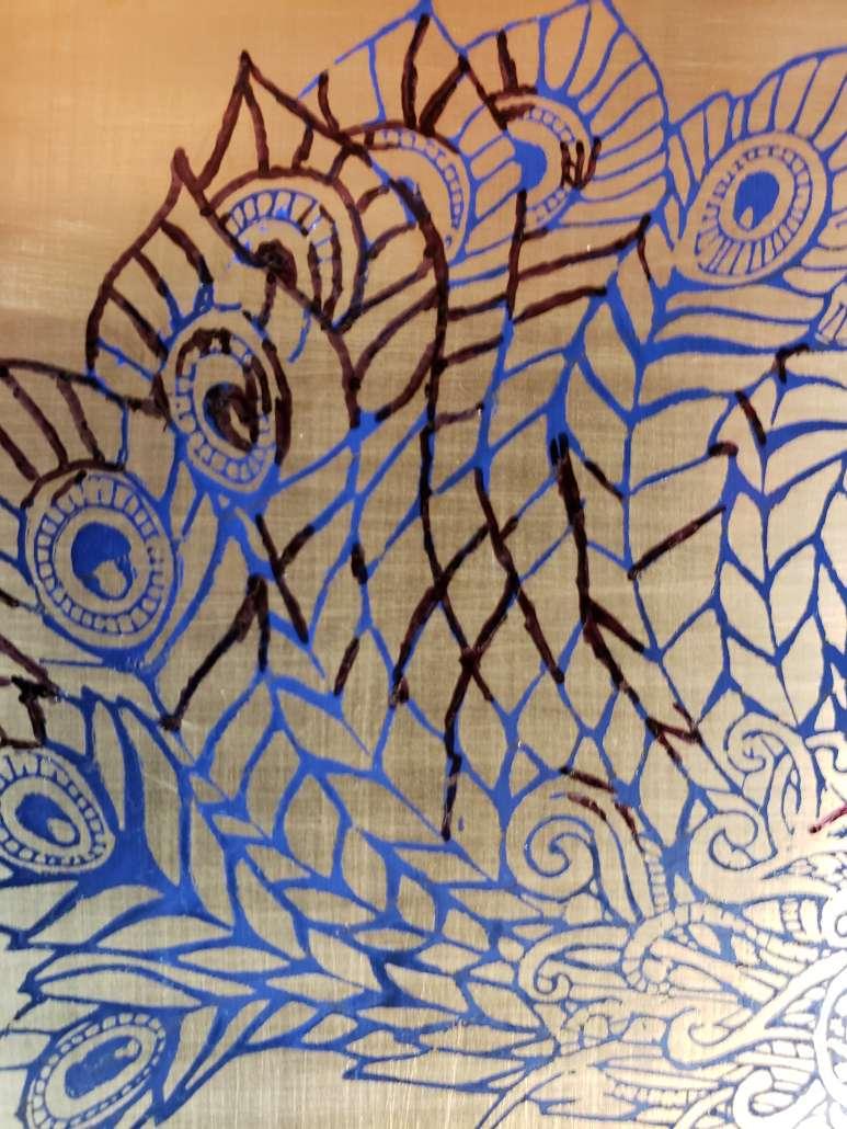 Kaleidoscope Etching